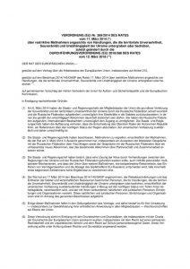 thumbnail of Maßnahmen angesichts von Handlungen, die die territoriale Unversehrtheit, 15.03.2018