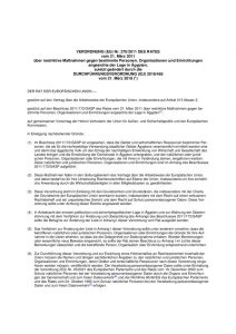 thumbnail of Maßnahmen gegen bestimmte Personen, Organisationen und Einrichtungen angesichts der Lage in Ägypten,