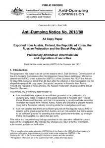 thumbnail of Anti-Dumping 23.05.2018