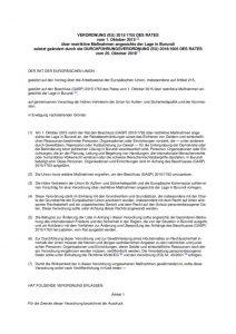 thumbnail of restriktive Maßnahmen angesichts der Lage in Burundi 25.10.2018