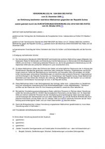 thumbnail of restriktiver Maßnahmen gegenüber der Republik Guinea 25.10.2019