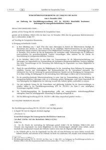 thumbnail of Durchführungsverordnung (EU) Nr. 282.2011 hinsichtlich bestimmter Befreiungen bei innergemeinschaftlichen Umsätzen
