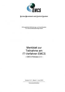 thumbnail of Merkblatt zur Teilnahme am IT-Verfahren EMCS 14.06.2019