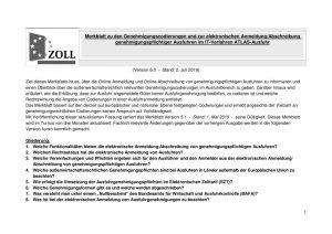 thumbnail of Merkblatt zu den Genehmigungscodierungen und zur elektronischen Anmeldung 04.07.2019