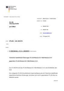thumbnail of Änderungen ATLAS-Release 9.0