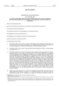 thumbnail of Einfuhren von Kleinsendungen mit einem Wert von bis zu 22 Euro zum 1. Januar 2021 (Richtlinie (EU) 2017-2455)