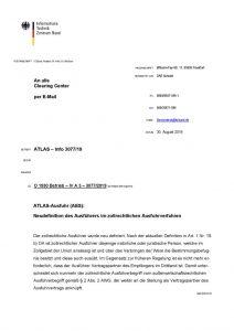 thumbnail of Neudefinition des Ausführers im zollrechtlichen Ausfuhrverfahren