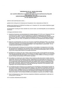 thumbnail of restriktive Maßnahmen angesichts der Lage in der Zentralafrikanischen Republik