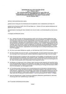 thumbnail of restriktive Maßnahmen angesichts der Lage in Burundi