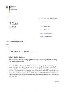 thumbnail of ATLAS-Einfuhr-Zolllager