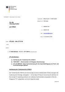thumbnail of ATLAS-IMPOST Neue Fachanwendung für die Importabfertigung von Post- und Kuriersendungen geplant