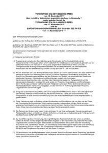 thumbnail of restriktive Maßnahmen angesichts der Lage in Venezuela