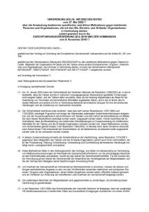 thumbnail of restriktiver Maßnahmen gegen bestimmte Personen und Organisationen