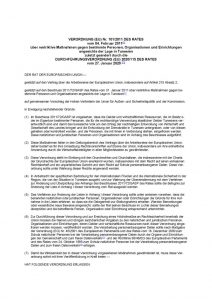 thumbnail of restriktive Maßnahmen gegen bestimmte Personen, Organisationen 31.01.2020