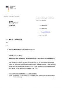 """thumbnail of Beendigung von Codierungen """"Art der Anmeldung (Überführung)"""""""