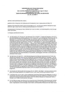 thumbnail of restriktive Maßnahmen angesichts der Lage in Libyen