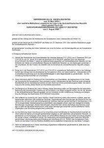 thumbnail of restriktive Maßnahmen angesichts der Lage in der Zentralafrikanischen Republik 11.08.2020