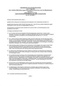 thumbnail of restriktive Maßnahmen gegen Cyberangriffe