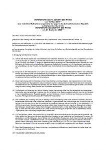 thumbnail of restriktive Maßnahmen angesichts der Lage in der Zentralafrikanischen Republik 23.09.2020