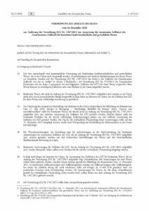 thumbnail of Aussetzung der autonomen Zollsätze des Gemeinsamen Zolltarifs L437